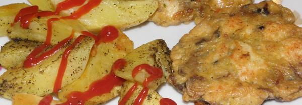 Kotleciki z kurczakiem i pieczarkami