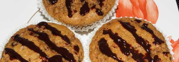 Muffiny cynamonowo-kawowe z czekoladą