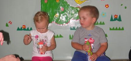 Pierwszy dzień w przedszkolu…