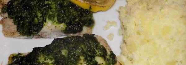 Dorsz na zielono – pieczony na cytrynie