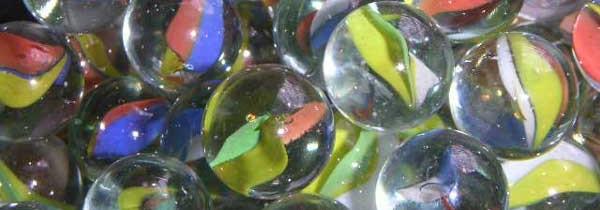 Szklane kuleczki a tyle radości